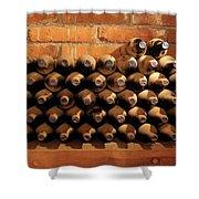 The Wine Cellar II Shower Curtain