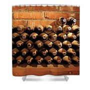 The Wine Cellar II Shower Curtain