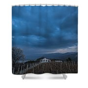 The Wineyard Shower Curtain