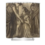 The Winter's Tale Shower Curtain