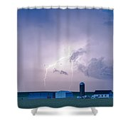 The Wish Bone Shower Curtain