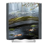 The Wishing Pond  Shower Curtain