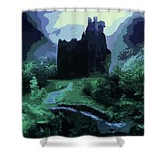 The Witching Hour  Shower Curtain