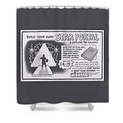 Wizbang Star Portal Shower Curtain