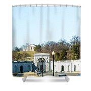 The Women In Military Service For America Memorial Shower Curtain