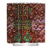 The Wood Of Paradise Shower Curtain