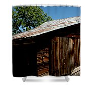 The Wood Shed Shower Curtain