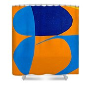 The Word Be Shower Curtain