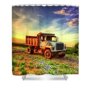 The Workhorse Shower Curtain