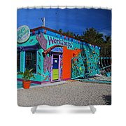 The Workshop-horizontal Shower Curtain