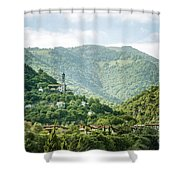 The World Above Shower Curtain