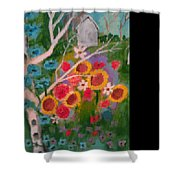 The World Of Flowers Shower Curtain