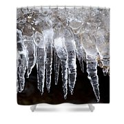 The World Of Ice Shower Curtain