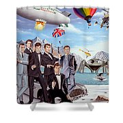 The World Of James Bond 007 Shower Curtain