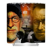The World Of Steven Spielberg Shower Curtain