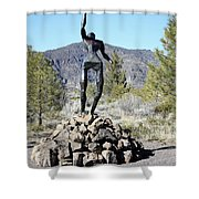 The Wounded Warrior Shower Curtain