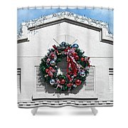 The Wreath Shower Curtain
