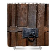 The Wrought Iron Handle Shower Curtain