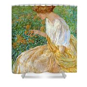 The Yellow Flower 1908 Shower Curtain