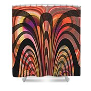 The Yellow Show Shower Curtain