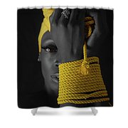 The Yellow Shower Curtain