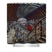 The York Train Station Shower Curtain