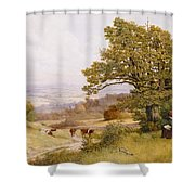 The Young Artist Shower Curtain by Henry Key