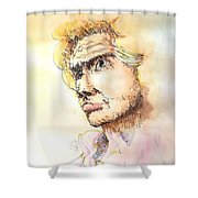The Young Prince Shower Curtain