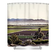 The Yuma Valley Shower Curtain