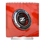 The Z Shower Curtain