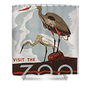 The Zoo Shower Curtain