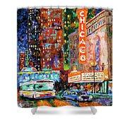 Theater Night Shower Curtain