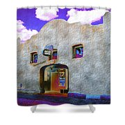 Theater Night Mesilla Shower Curtain