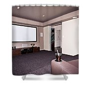 Theatre Room Shower Curtain