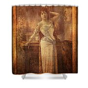 Theatrical Attitude Shower Curtain