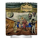 Theatrum Imaginarius -theatre Of The Imaginary Shower Curtain by Cinema Photography
