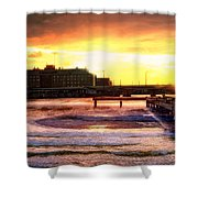 Theda Clark Shower Curtain