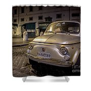 The Fiat 500 Shower Curtain