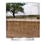 Their Name Liveth For Evermore Shower Curtain