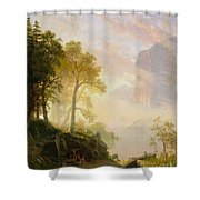 The_merced_river_in_yosemite Shower Curtain