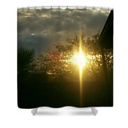 Then There Was Light Shower Curtain