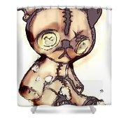 Theodore. Shower Curtain