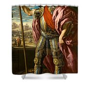 Theodoric King Of The Goths Shower Curtain