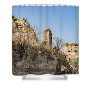 Theodosian Walls - View 10 Shower Curtain