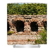 Theodosian Walls - View 13 Shower Curtain