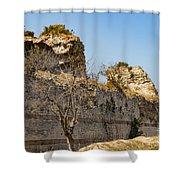 Theodosian Walls - View 7 Shower Curtain