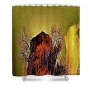 Theophany Shower Curtain