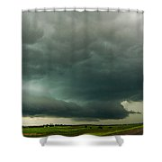 There Be A Nebraska Storm A Brewin 016 Shower Curtain