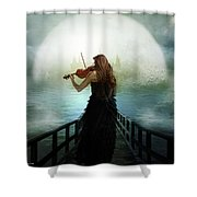 There Is A City Shower Curtain