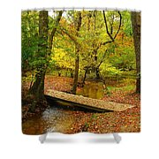 There Is Peace - Allaire State Park Shower Curtain